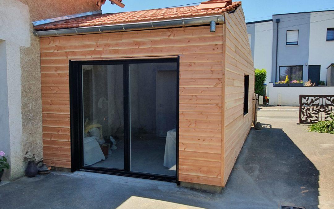 Une extension bois pour votre maison